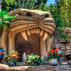 Disneyland Adventureland Aladdins Oasis photo, July 2012