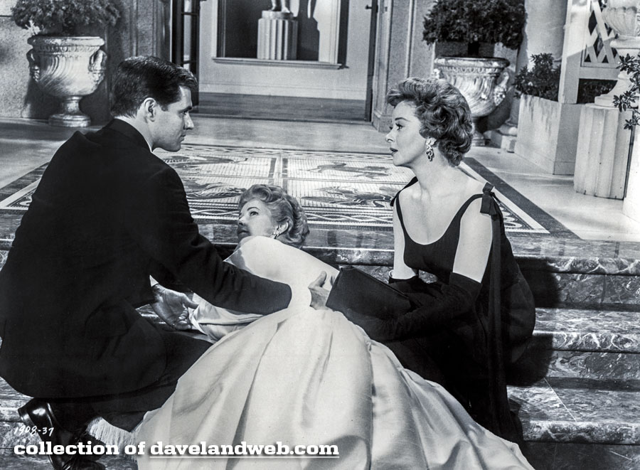 John Gavin, Vera Miles, and Susan Hayward in Back Street photo