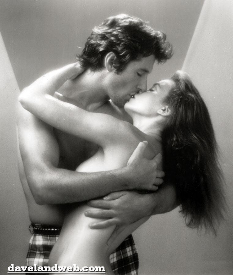 Richard Gere and Valerie Kaprisky in Breathless photo
