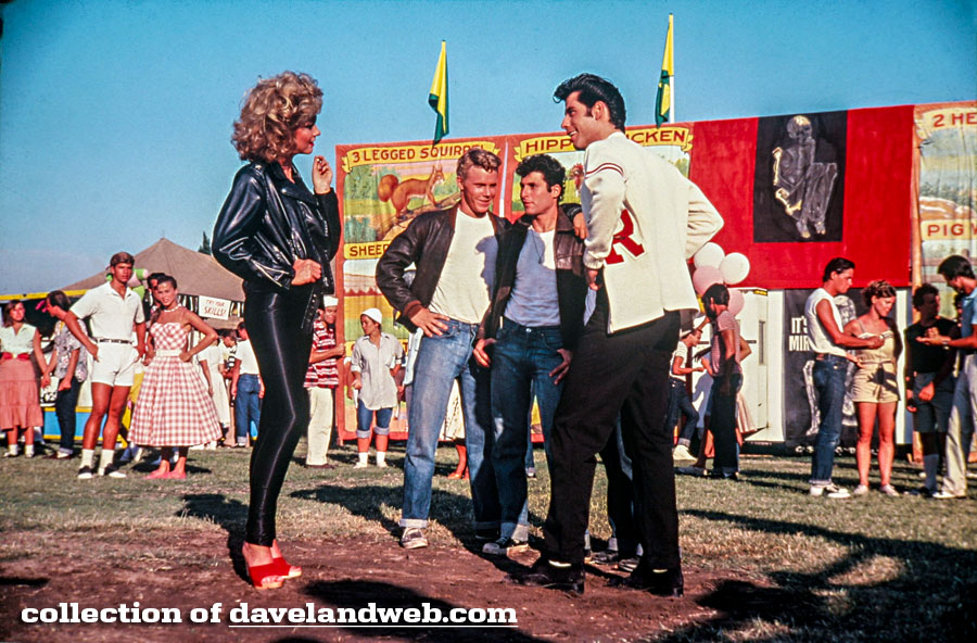 Olivia Newton-John and John Travolta in Grease photo