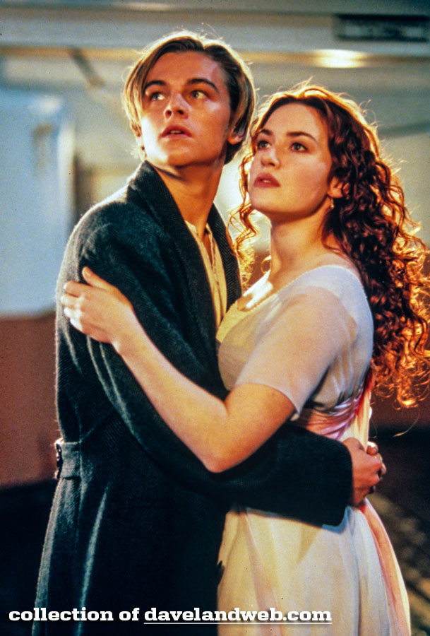 Leonardo DiCaprio and Kate Winslet Titanic photo