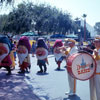 Disneyland Central Plaza August 1967 photo