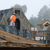 Disneyland Fantasy Faire construction photo, December 2012