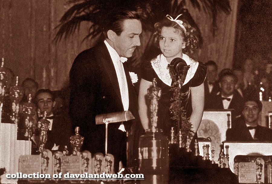 Disneyland Club 33 Walt Disney Shirley Temple photo