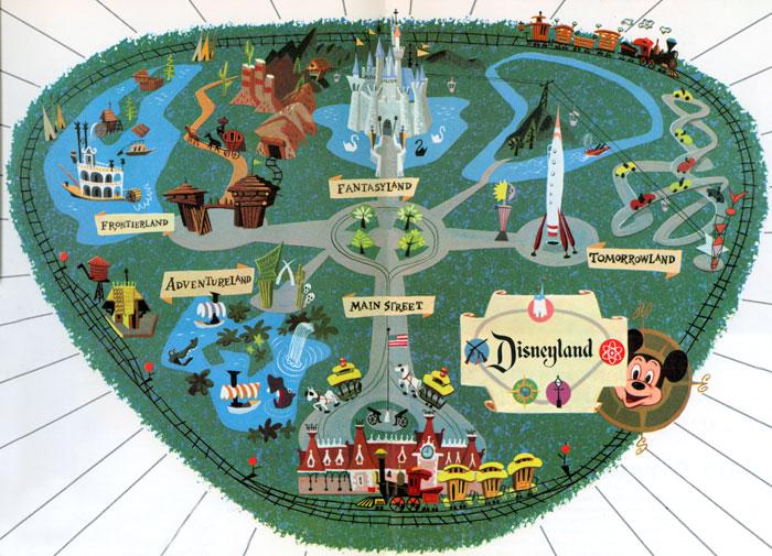 Disneyland 1955 Map disneyland - picfind2 ...