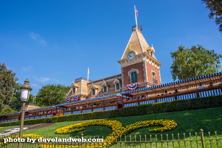 Disneyland Main Street Train Station