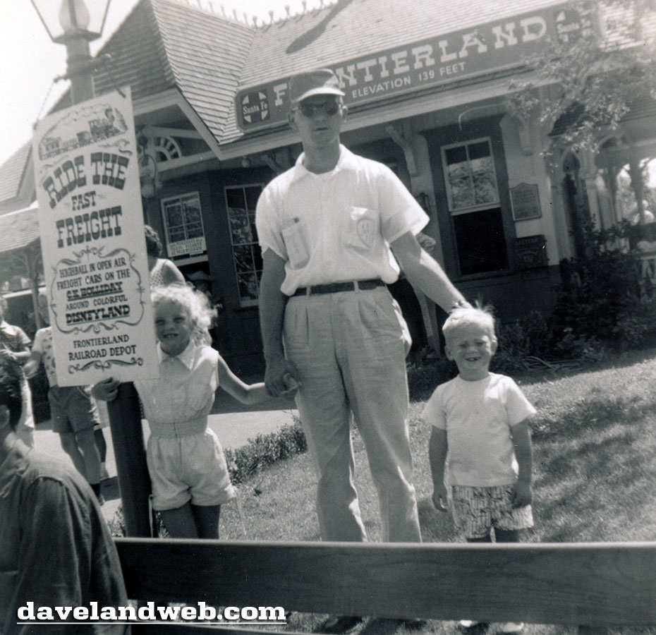 1955 Frontierland Station