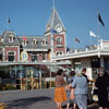 Disneyland Entrance photo, 1959