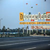 Disneyland entrance sign photo, 1959