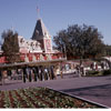 Disneyland Entrance photo, January 1964