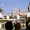 Disneyland entrance, January 1962