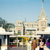 Disneyland entrance area photo, December 1979