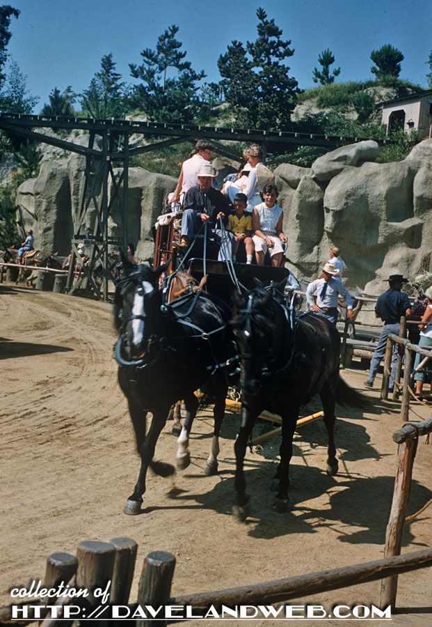 A Stagecoach in Frontierland