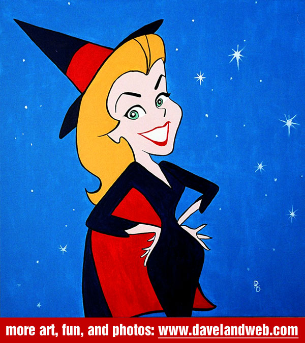 I wish I was Sam from Bewitched