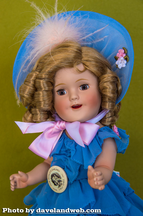 Shirley Temple Little Colonel Ideal doll photo