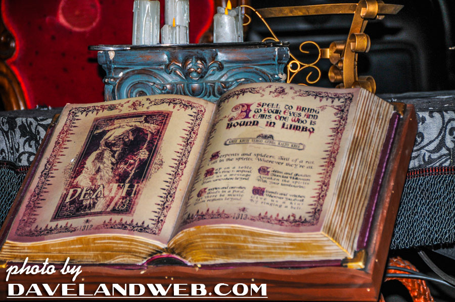 See more Haunted Mansion (both recent and vintage) photos at my website.
