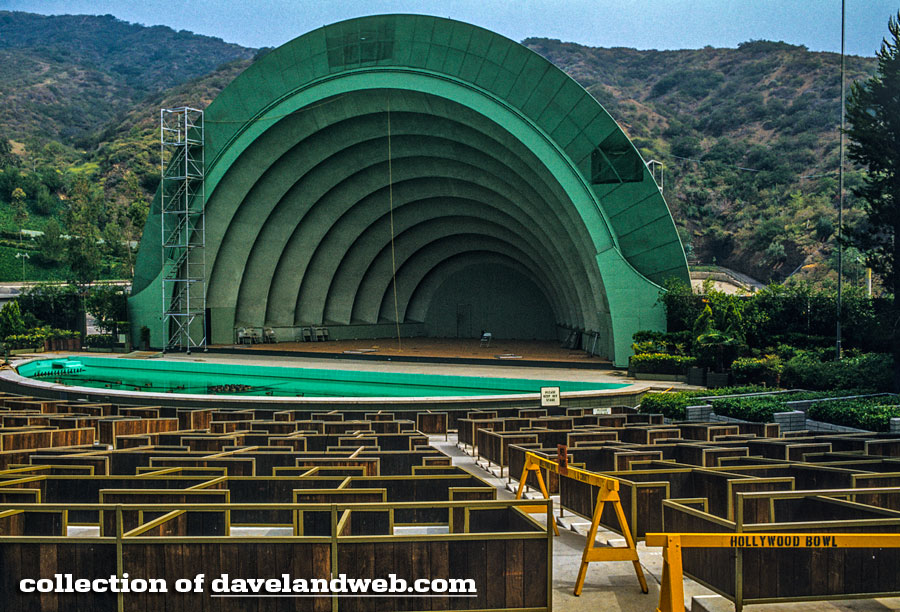 The Hollywood Bowl >> Daveland Hollywood Bowl Photos