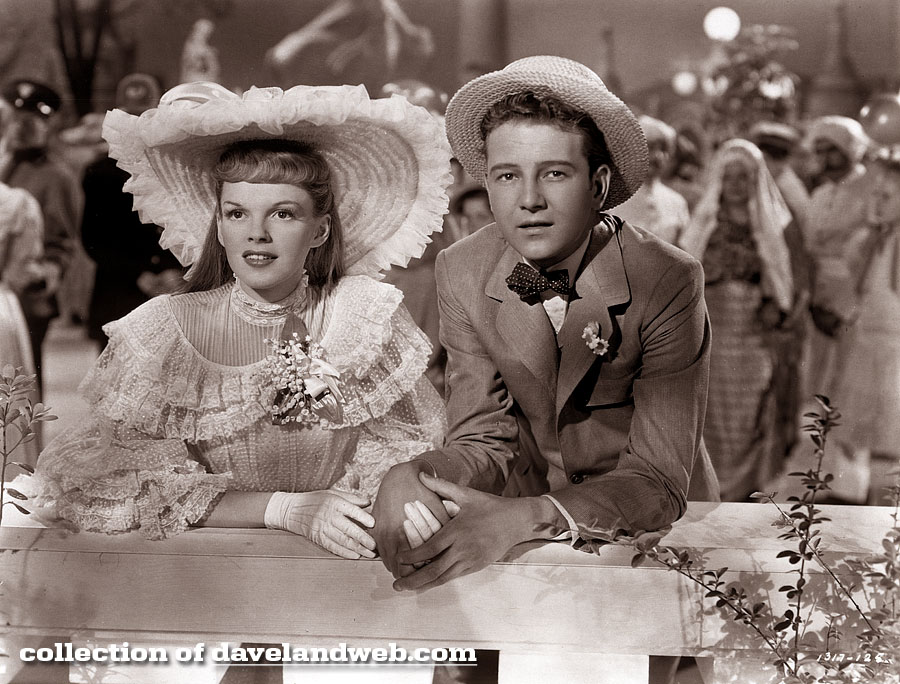 Tom Drake and Judy Garland in Meet Me In St. Louis photo