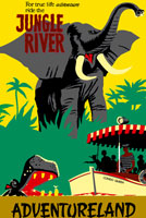 Jungle Cruise attraction poster