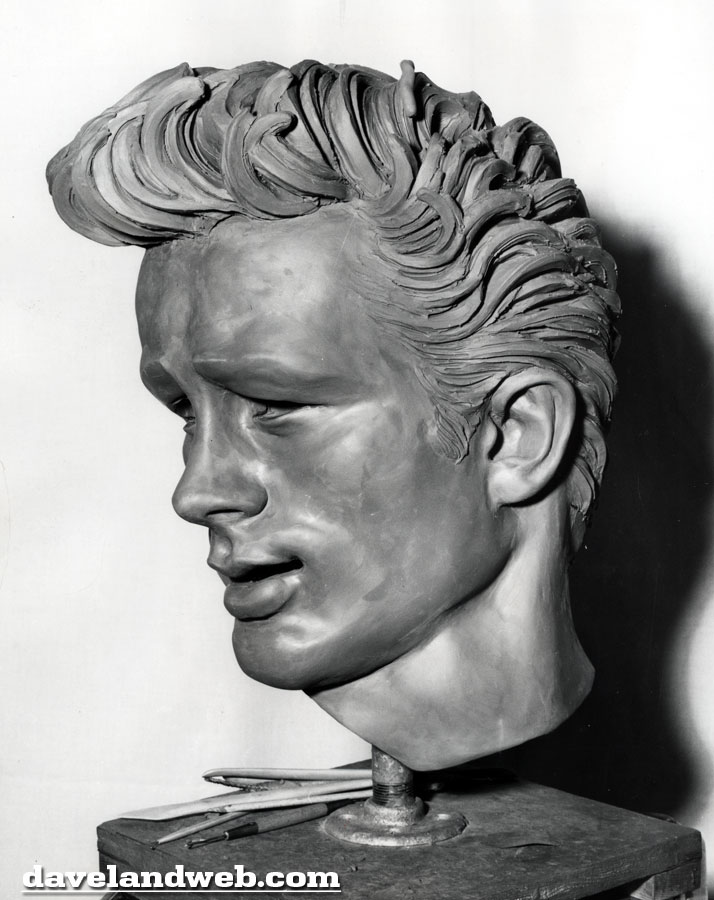 Screen Gem Saturdays: James Dean Sculpture by Kenneth Kendall