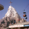 Matterhorn at Disneyland photo, January 1964