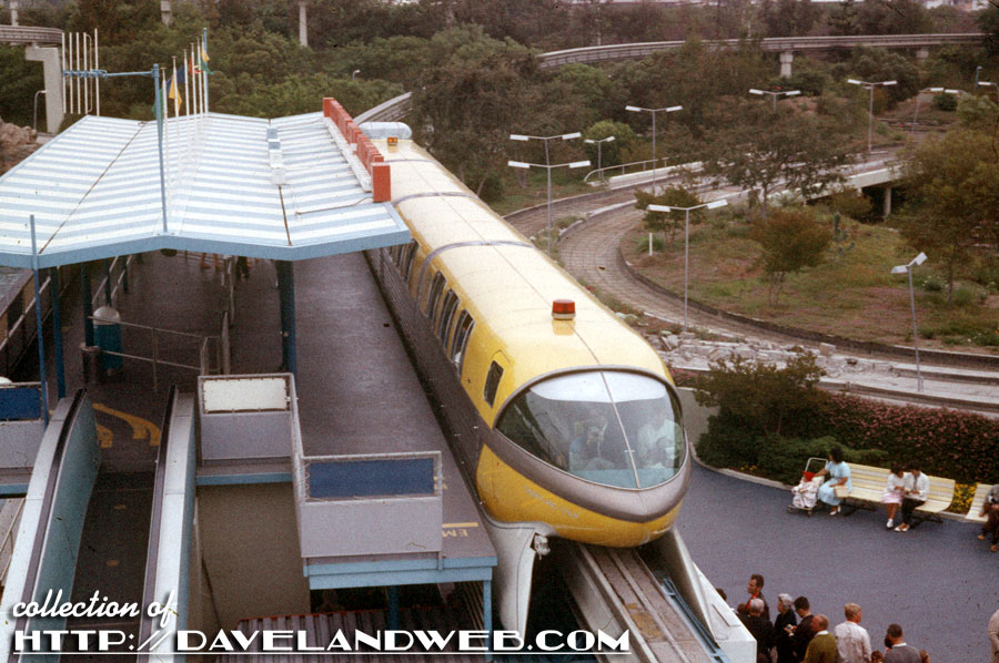 Monorail on a Friday