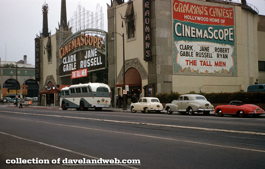 Grauman's Chinese Theatre vintage September 1955 photo
