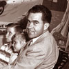 Richard The Nixon Family at Disneyland on Mr. Toad's Wild Ride