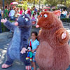 Remy and Emile from Ratatouille in New Orleans Square, June 2007