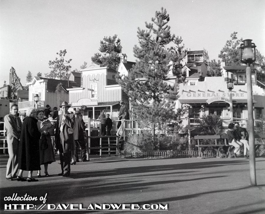 A Dress Shop at Disneyland, 1957