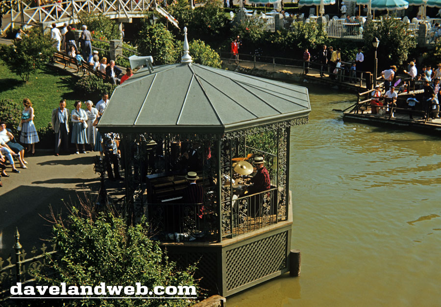 Rivers of America bandstand