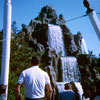 Disneyland Frontierland Cascade Peak, April 1968