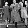 Shirley Temple with Mickey Rooney and Judy Garland at MGM, February 18, 1941