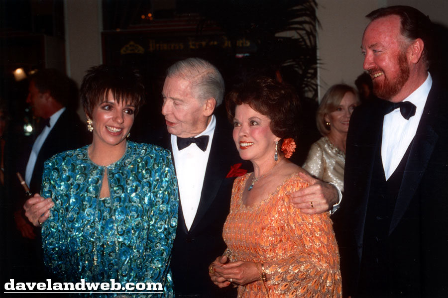Liza Minnelli, Milton Berle, Shirley Temple and Jack Haley, Jr. photo