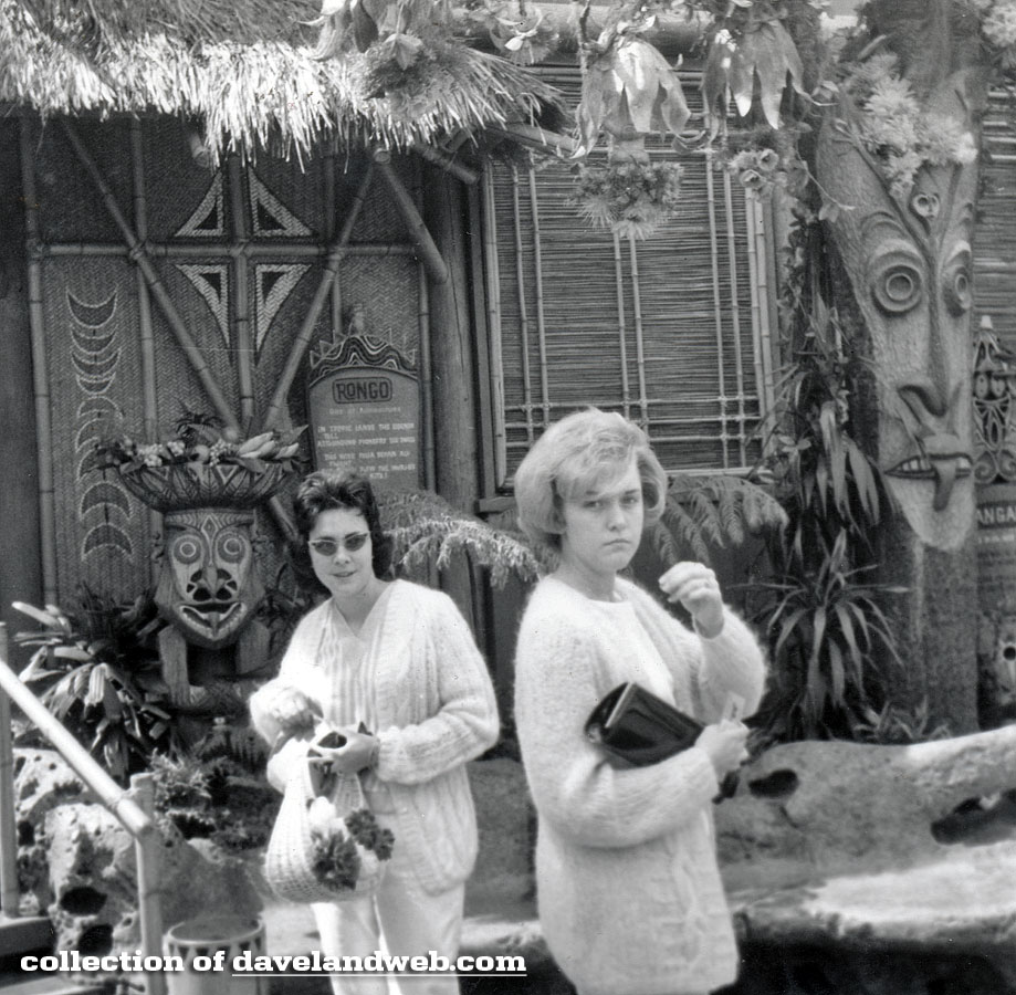 Disneyland Enchanted Tiki Room May 1964 photo
