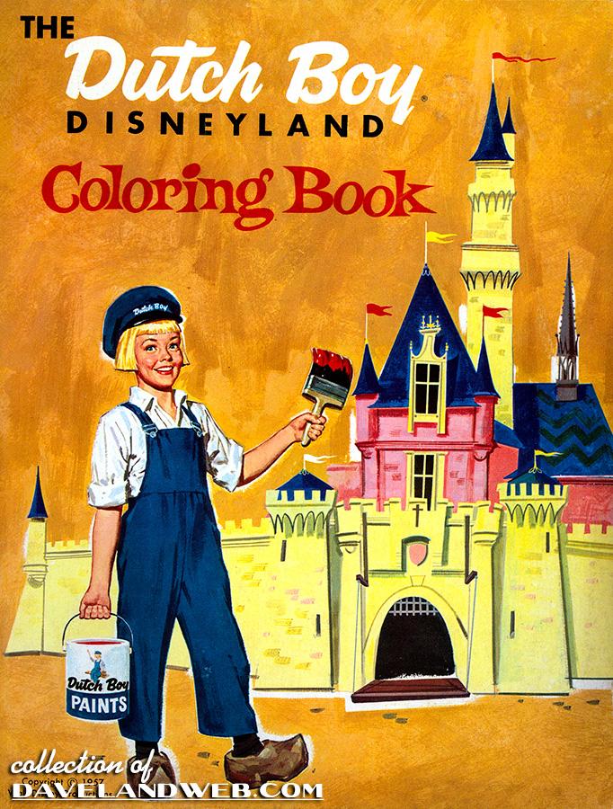 Disneyland Dutch Boy Paint Gallery Page