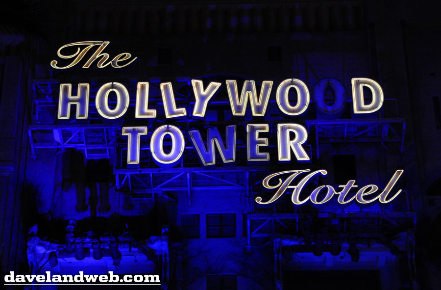 Disney California Adventure Tower of Terror attraction exterior photo