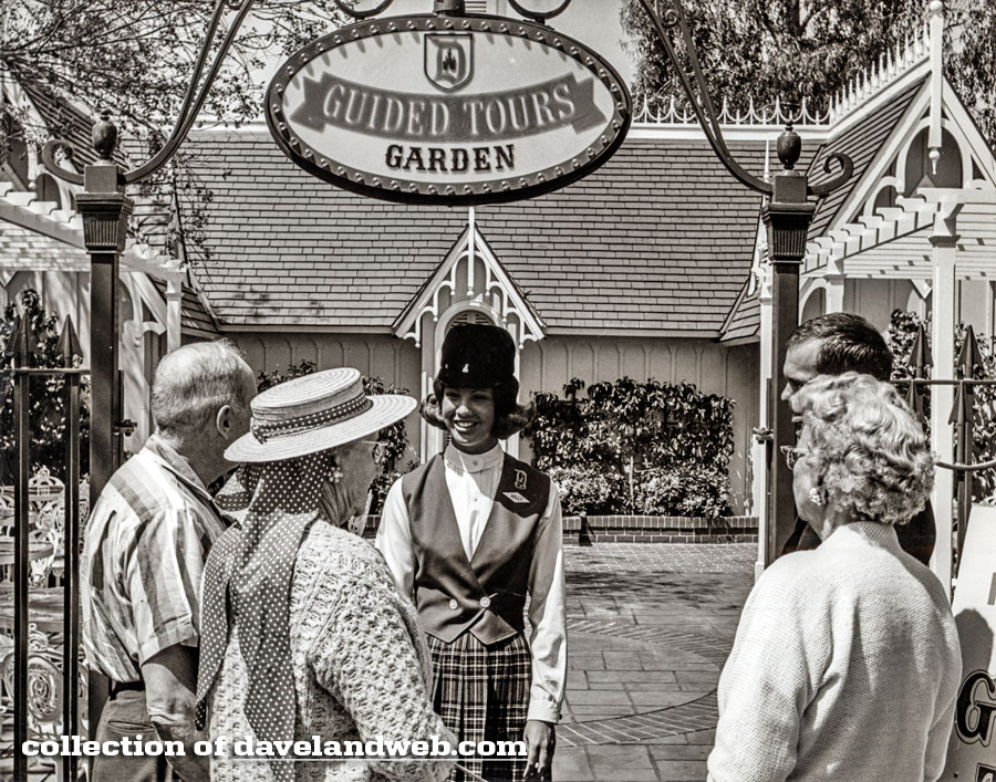 Disneyland Tour Guide Garden