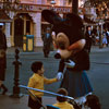 1950s Minnie Mouse in Town Square