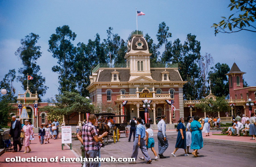 Disneyland Town Square photo