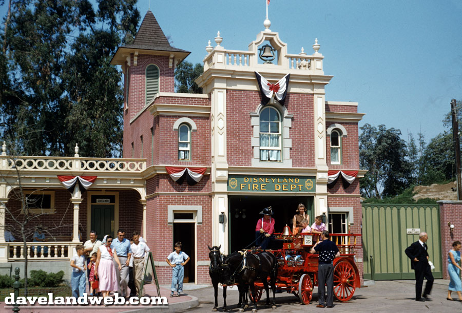 Disneyland Fire Department photo